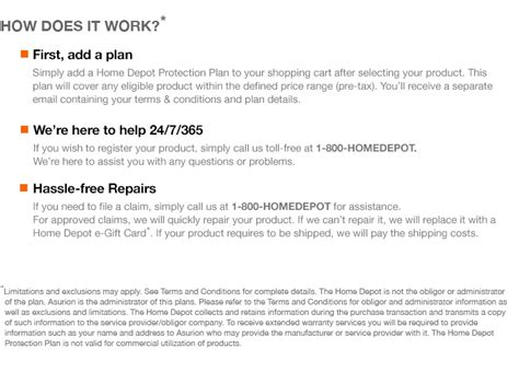 home depot protection plan the home depot 3 year protection plan for mowers 300