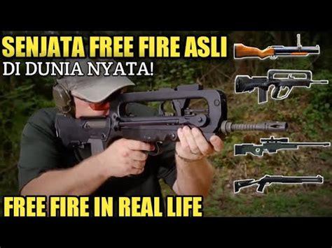 senjata  fire  dunia nyata freefirebattlegrounds