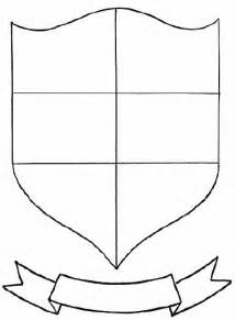 shield template pdf free coloring pages of coat of arms template