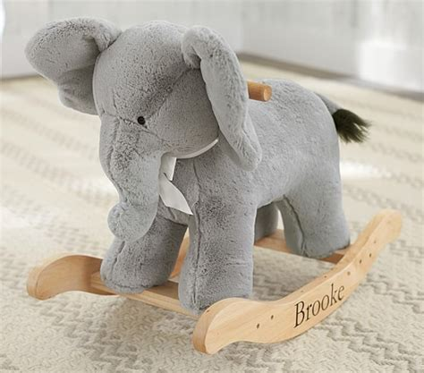 Elephant Plush Rug by Elephant Plush Rocker Pottery Barn