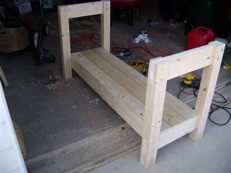 2x6 bench wooden workbench plans 2x6 pdf plans