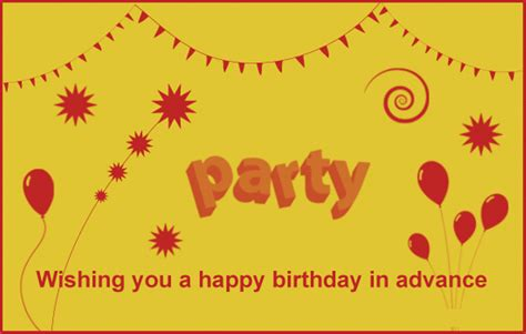 Wishing Myself Happy Birthday In Advance Advance Happy Birthday Pictures Images Graphics For