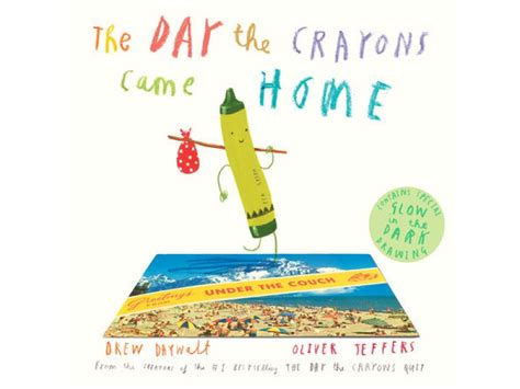 book review the day the crayons came home by drew