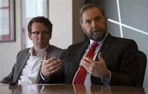 Bor Ndp mulcair b c ndp stumbled on fate of pipeline and liberal attack ads the