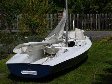 Jolle Neu Lackieren by Segelboot Corsar Segeljolle In K 252 Tzkow Segelboote Kaufen