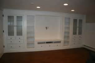 using ikea kitchen cabinets for entertainment center ikea hemnes shelves diy hack for built in shelving via no