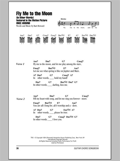 the frank marocco accordion songbook bk audio books fly me to the moon in other words sheet by frank