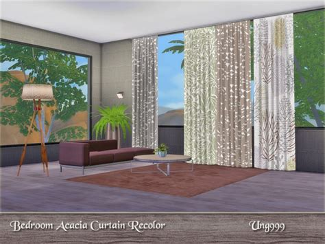 sims resource bedroom acacia curtains  ung sims  downloads