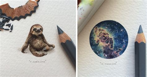 incredibly tiny galaxies animals and books in miniature