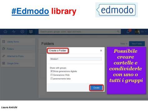 edmodo library edmodo nella didattica web e tablet