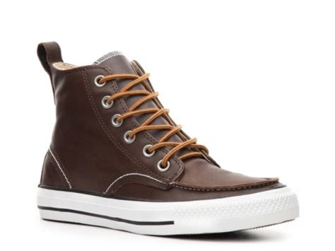 mens brown leather converse boots converse mens chuck all classic hi leather