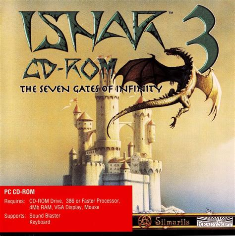 gates of infinity ishar 3 the seven gates of infinity 1994 dos box cover