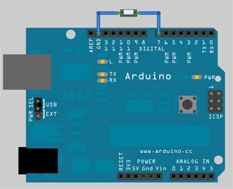 arduino code push button rosserial arduino tutorials push button