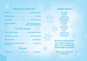 school christmas concert program dax graphics
