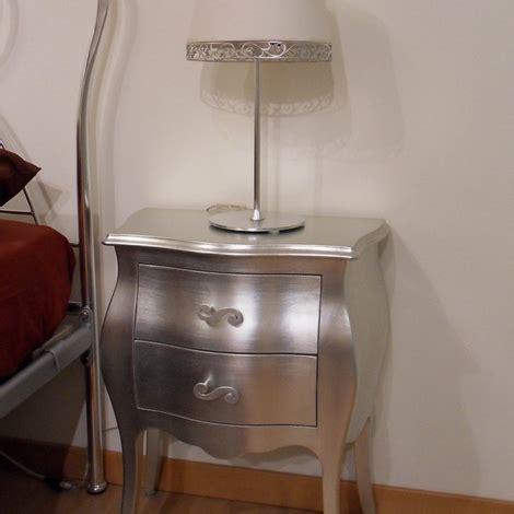 comodini foglia argento comodini foglia argento offerta camere a prezzi scontati