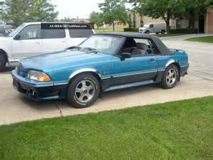 1989 ford mustang gt convertible 2 door 5 0l