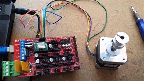 arduino mega shied ramps   driver  motor nema