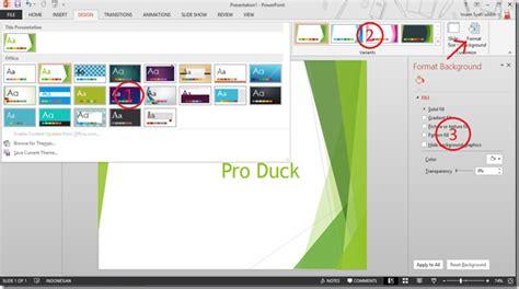 cara download themes powerpoint 2007 cara mengganti tema pada slide di powerpoint 2013 pro duck