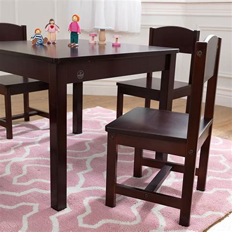 kidkraft farmhouse table and chairs best gifts kid table and chairs researchparent com