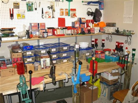 reloading bench setup show us your reloading setup matt pinterest love