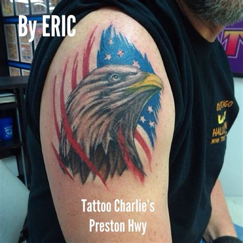 tattoo charlie s lexington eagle by eric s hwy