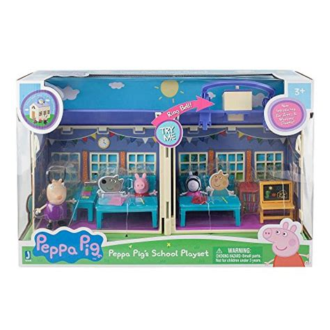peppa pig house playset peppa pig deluxe school house playset toys games toys dolls playsets toy figures toy