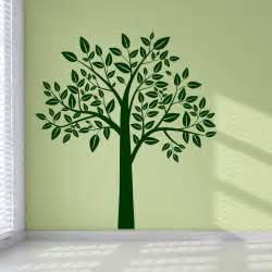 Wall Sticker Art Uk Full Leafy Tree Wall Art Stickers Wall Decal Transfers Ebay