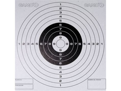 printable targets airguns printable airgun targets