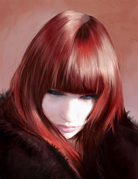 painting hair no smock required 30 awesome digital painting tutorials