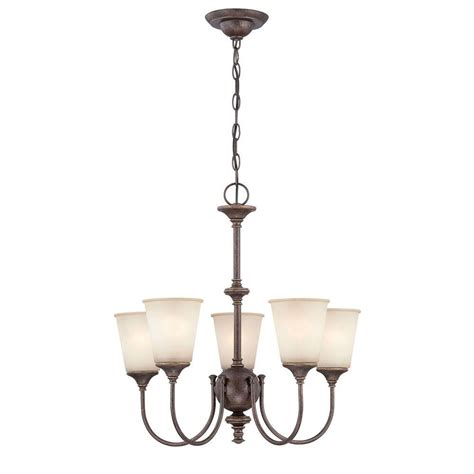 Ls And Chandeliers Illumine Designer 5 Light Gold Chandelier Cli Ls 19898 The Home Depot