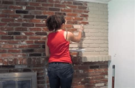 How To Remove Paint From Brick Fireplace Surround Best How To Remove Paint From Brick Fireplace