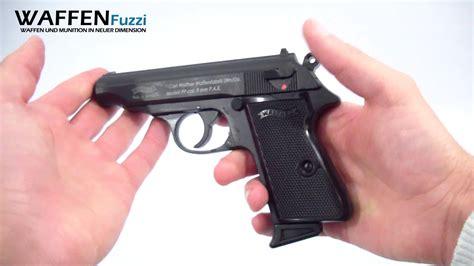 Umarex Walther P88 Cal 9mm P A K walther pp kal 9mm p a k schreckschuss waffen test gas