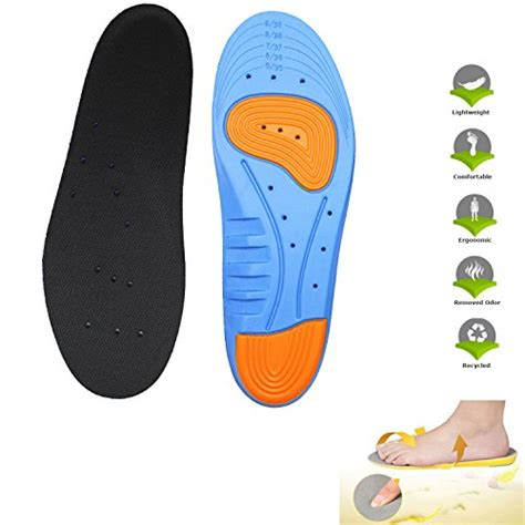 best insoles for basketball shoes free shipping leagy mens womens memory foam orthopedic