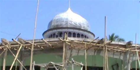 Lu Gantung Untuk Masjid sejumlah caleg menarik kembali sumbangan untuk masjid lugas