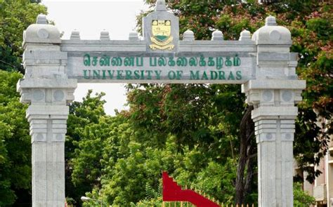 Mba Admission In Madras 2016 by Of Madras Commences Admission Process For
