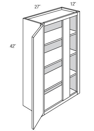 wbc2742 wall corner cabinets wall blind corner cabinet