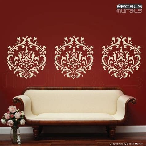 damask wall stickers damask wall decals 2017 grasscloth wallpaper