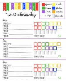 21 day fix meal plan printable search results calendar