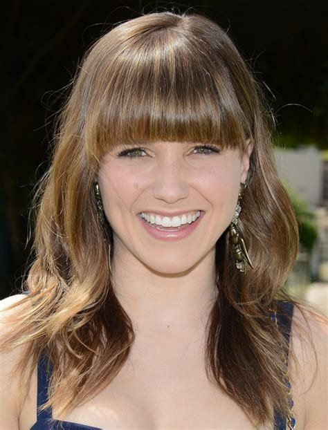 brunette hairstyles with bangs 2014 80 medium hairstyles for 2014 celebrity haircut trends