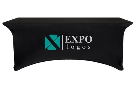 trade table covers with logo stretch table covers with logo table covers depot