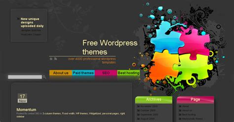 theme website generator 21 sites where to find free wordpress themes daily