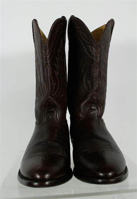 nocona boots brown cowboy western boots size 12 ee ebay