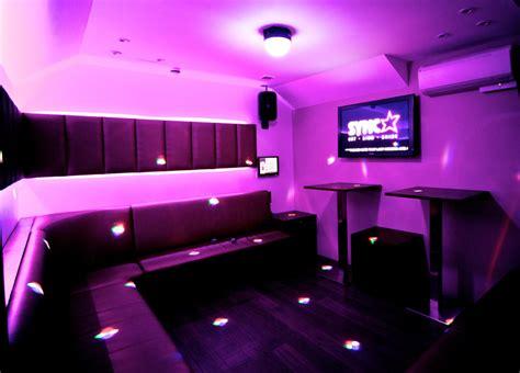 karaoke rooms sing sync bar