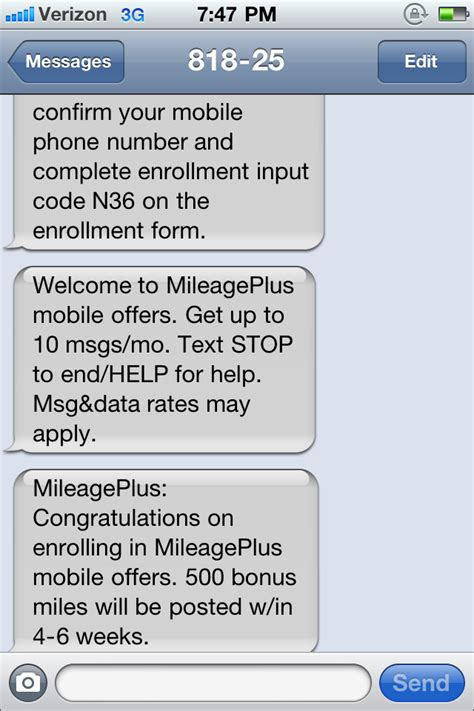 Send Visa Gift Card Via Text Message - 500 free united miles when you sign up for visa mobile offers angelina travels