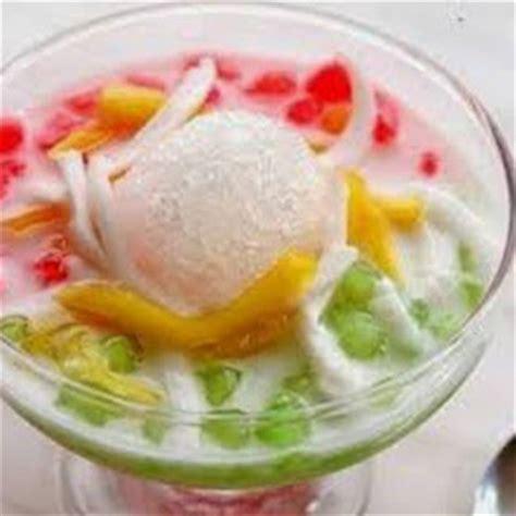 cara membuat es buah bandung resep dan cara membuat es oyen khas bandung