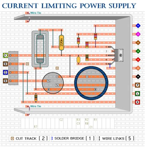 how to make a bench power supply how to build a current limiting bench power supply