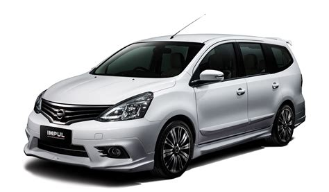 nissan grand livina nissan grand livina facelift introduced from rm87k image
