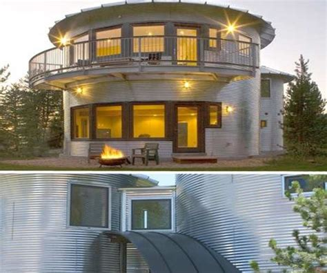 grain silo house alternative style