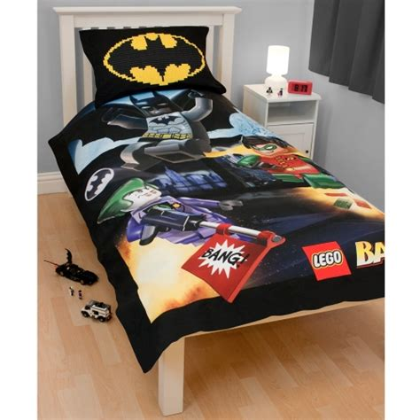 lego batman single bedding duvet quilt cover set new ebay