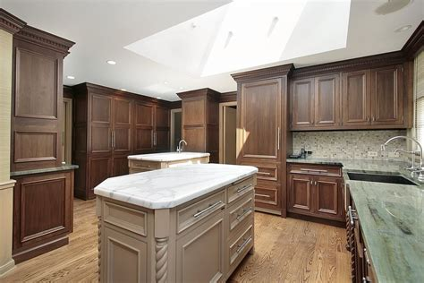 kitchen cabinets countertops and flooring combinations 43 quot new and spacious quot darker wood kitchen designs layouts
